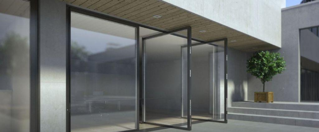 Porte pivotante Masterline 8 : haute et élégante
