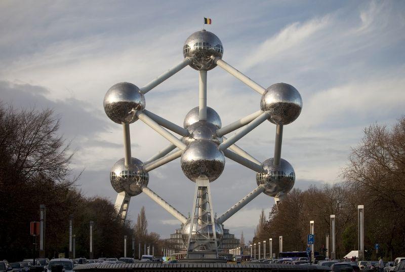 Het Atomium was het decor van het event