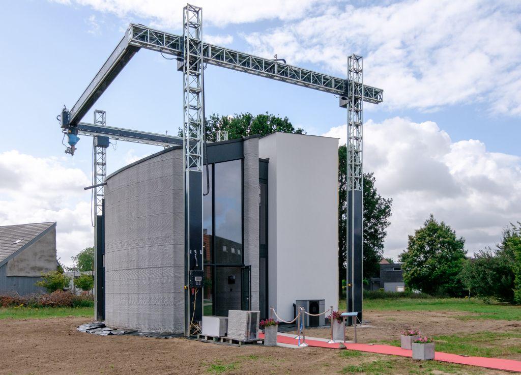 Wordt 3D-betonprinten de nieuwe norm?