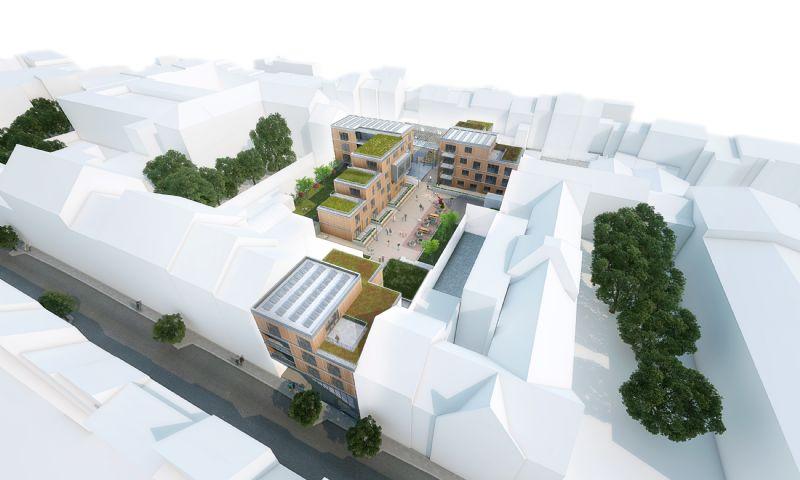 Un nouveau quartier durable bruxellois en construction (R2D2 / Beng)