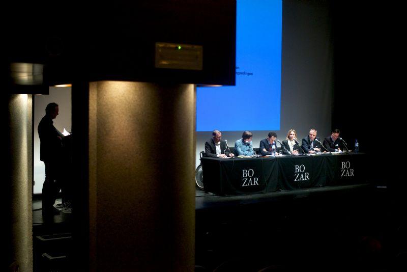 Panelgesprek op het PPS-colloquium
