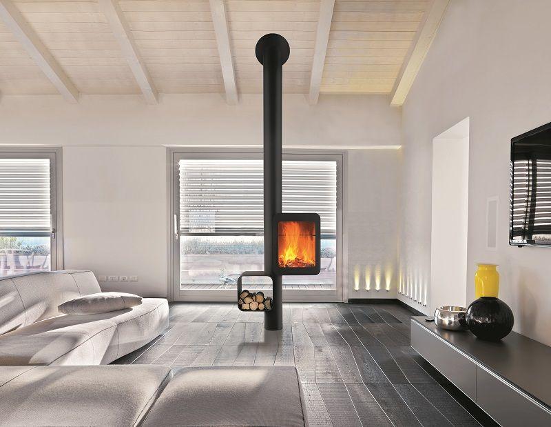 Focus, fabricant de foyers design, lance le Grappus