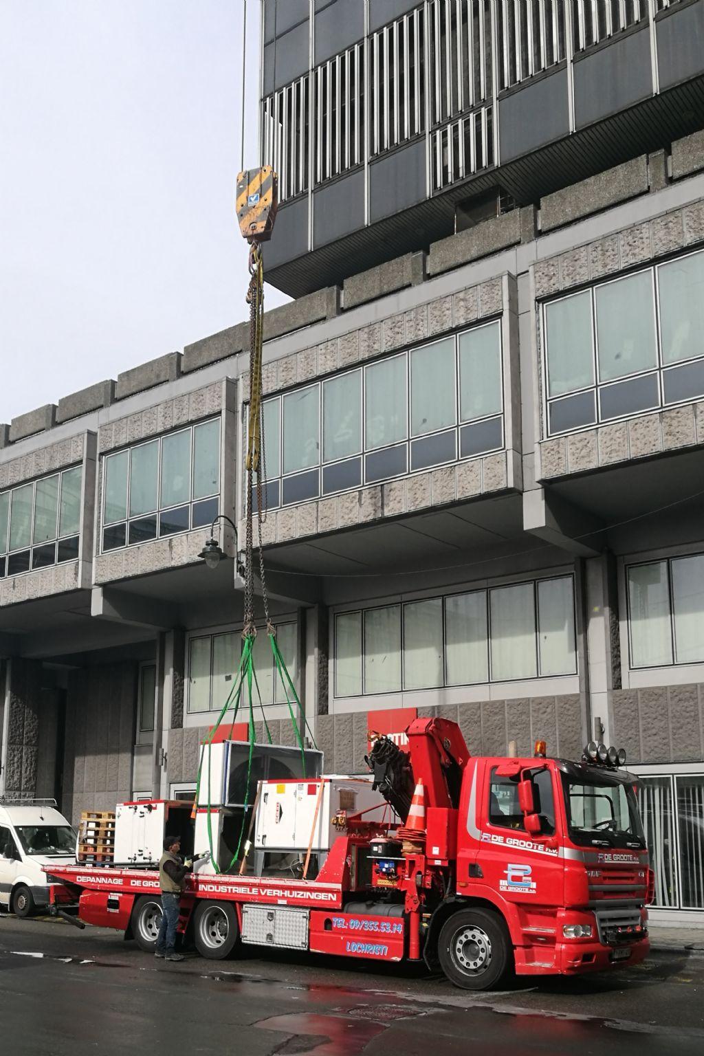 Werf Philipstoren bij het De Brouckèreplein