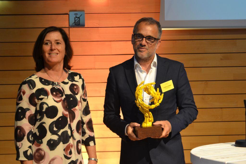 Patrick Lootens nam dit jaar nog een Jo Crepain Prijs in ontvangst voor POLO Architects.