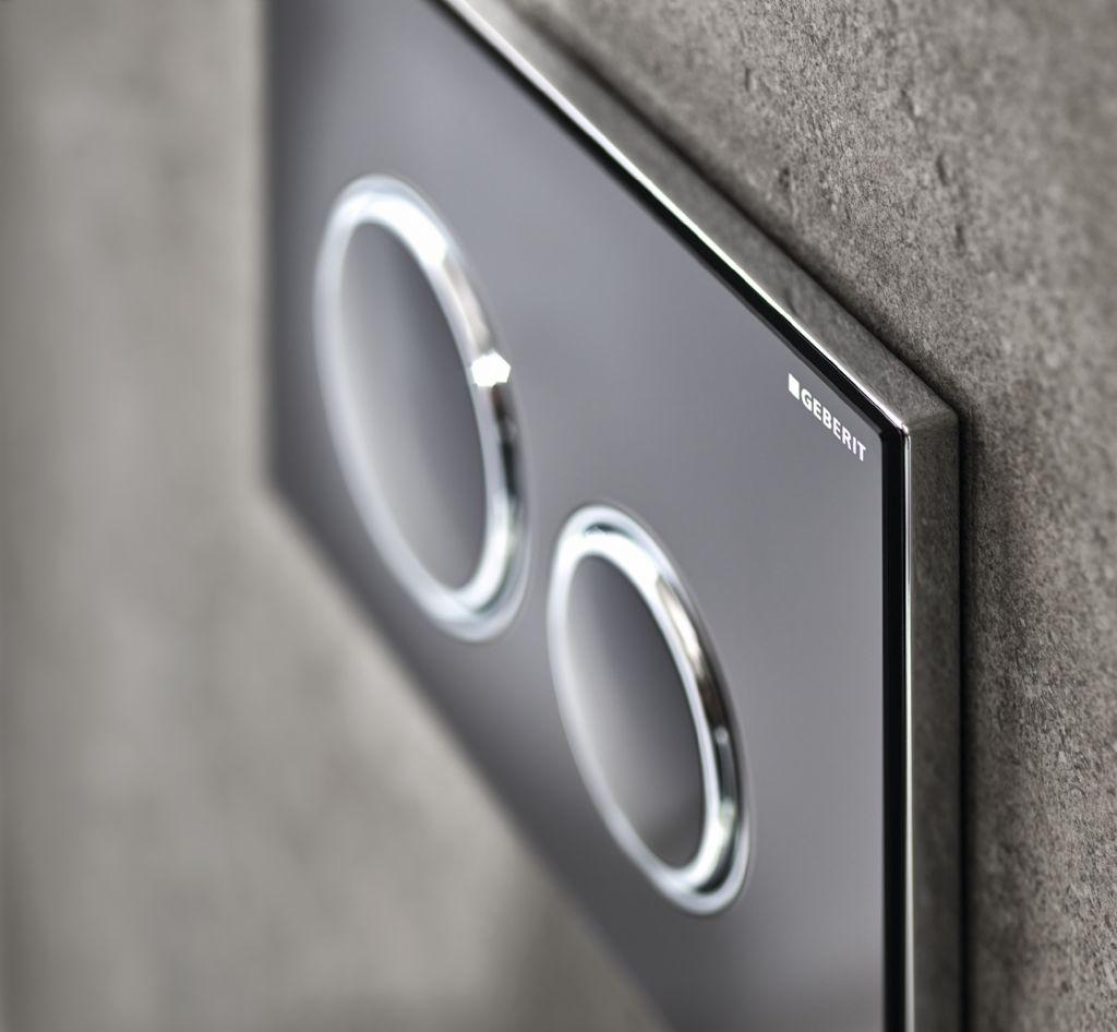 De l'ardoise pour les plaques de déclenchement Sigma21 de Geberit