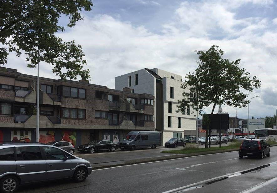 Uitbreiding Delhaize met appartementen