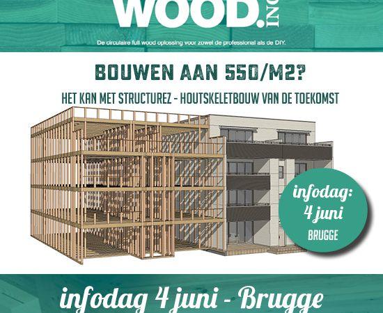 WOODinc organiseert infosessie rond duurzaam en circulair bouwen