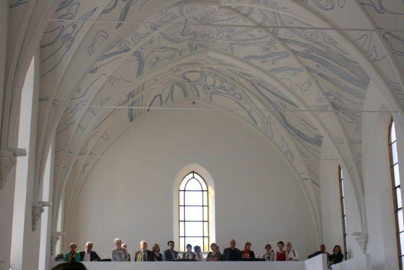De opening van het Clarenhof kon op heel wat publieke belangstelling rekenen.