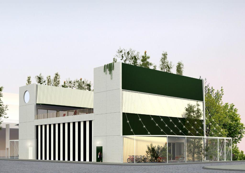 Brussels bureau CENTRAL mag nieuwe concertzaal Magasin 4 ontwerpen