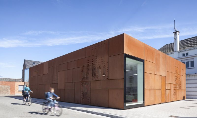 Studio Farris - Bibliotheek - Brugge