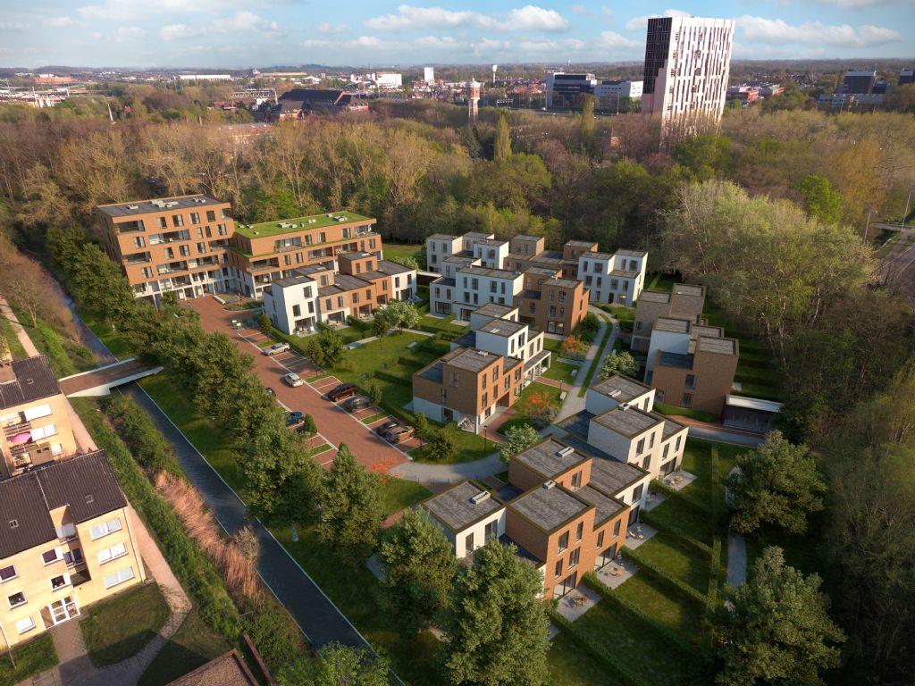Hof van Gent: groen wonen in de stad (Bontinck architecture and engineering)
