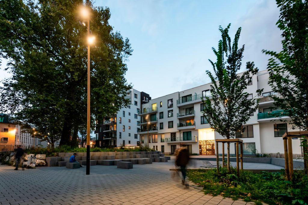 Stadsverlichting zorgt voor meer gezelligheid in de ecowijk Tivoli GreenCity