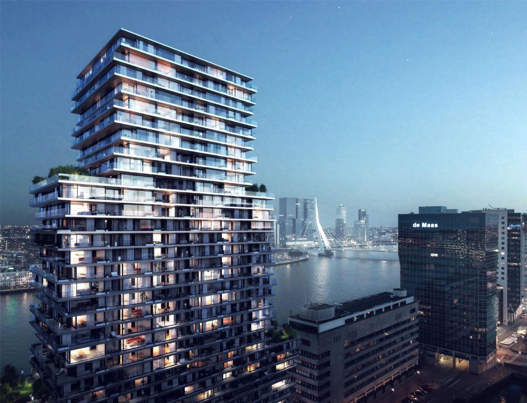 A Rotterdam, Wicona invente le concept du 'bonheur empilé'