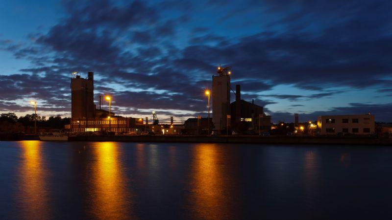 De fabriek in Tessenderlo in 2014