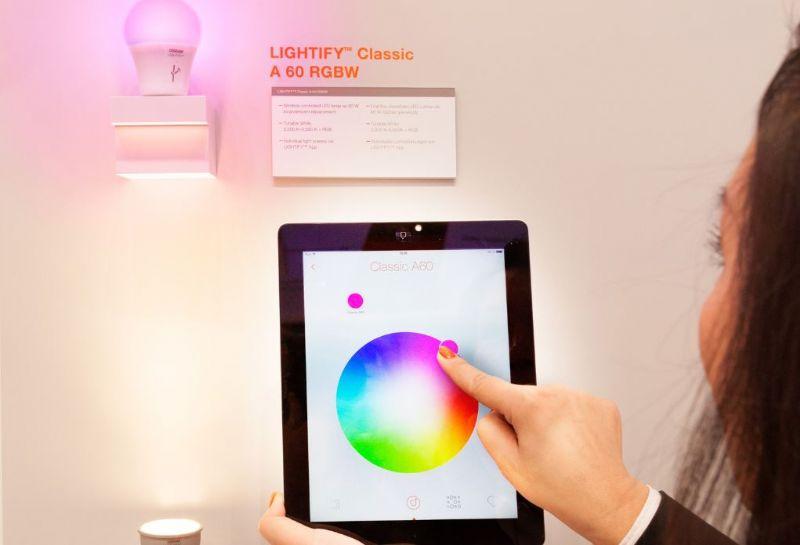 OSRAM Lightify: bestuur de verlichting met je smartphone of tablet