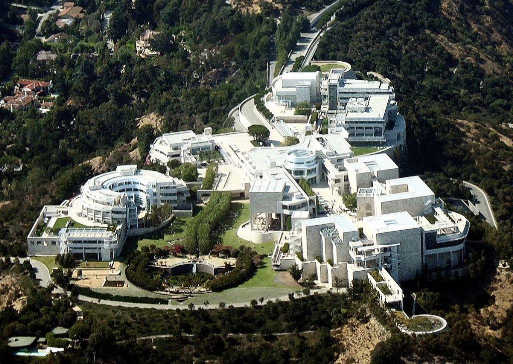 Het Getty Center in Los Angeles, één van de bekendste creaties van Meier