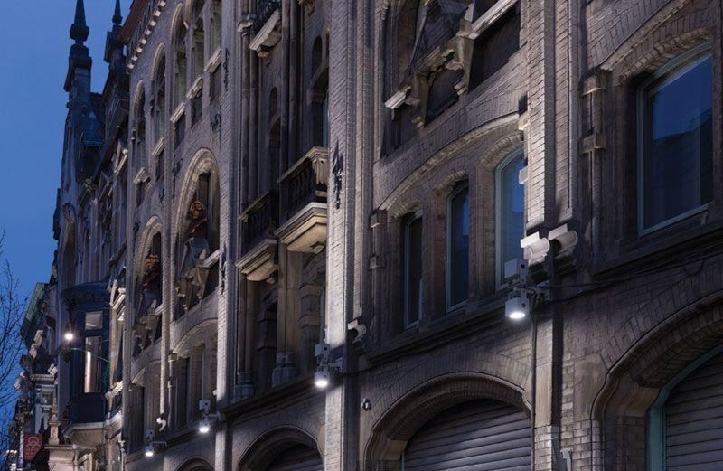 Duurzame ledverlichting in Gentse Belfortstraat