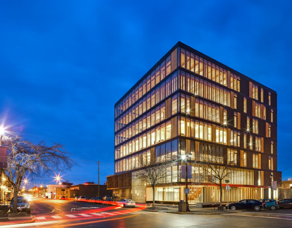 Wood Innovation and Design Center (Michael Green Architects)