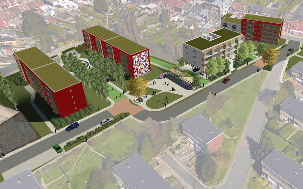 Réhabilitation de la Cité du Centenaire à Montignies-sur-Sambre en éco-quartier