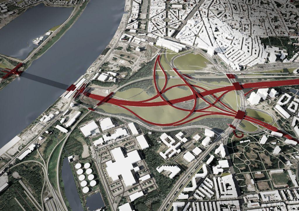 Oosterweelverbinding, lauréat GOLD dans la catégorie 'Projets d'infrastructure'.