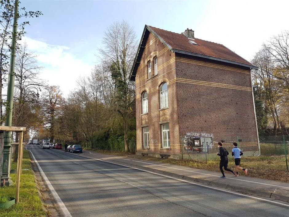 La maison forestière, chaussée de La Hulpe.