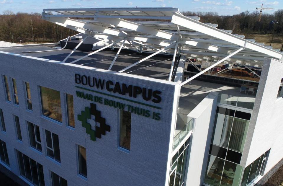 De Bouwcampus is een gedroomd visitekaartje voor de dynamische Limburgse bouwsector. (Beeld: Confederatie Bouw Limburg)
