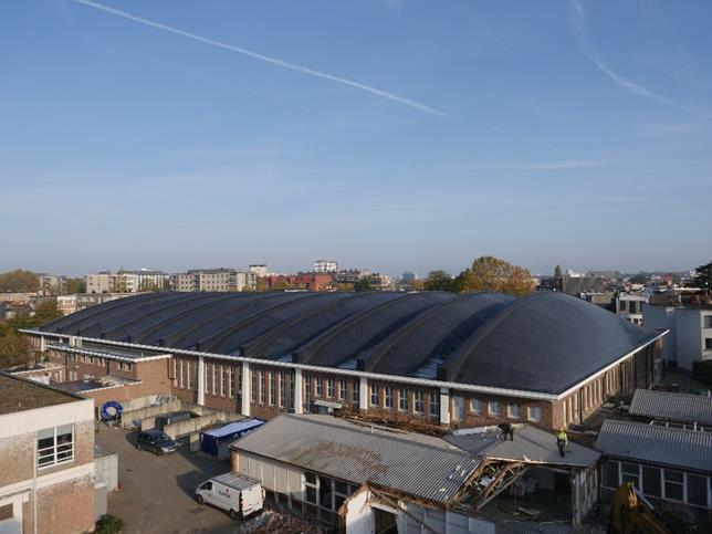Le Laboratoire de recherches hydrauliques collecte l'eau de pluie de la toiture