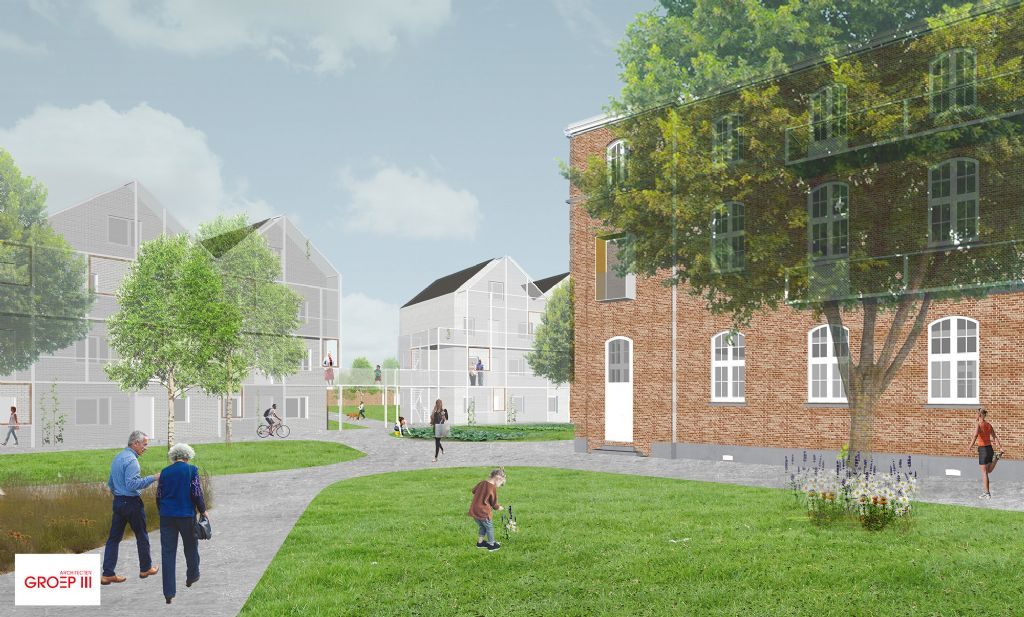 Oud Militair Hospitaal in Brugge omgevormd tot sociaal woonproject