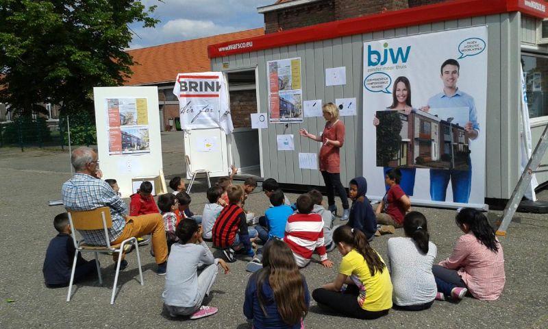 Op woensdag 27 mei ontving Mutatie+ diverse groepen kinderen om ook hen enthousiast te maken en te vertellen over het project Mutatie+ dat in hun eigen leefwereld van start gaat.