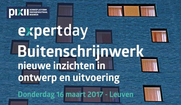 Expert day: Buitenschrijnwerk: nieuwe inzichten in ontwerp en uitvoering
