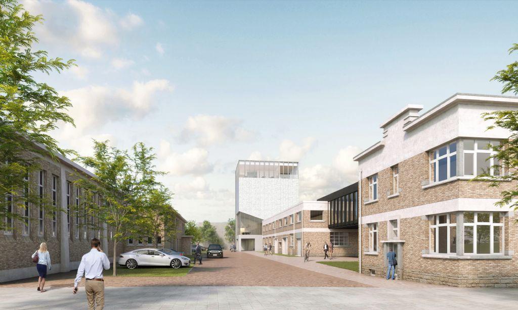 Van het project Waterbouwkundig Laboratorium in Borgerhout koestert Achtergael hoge verwachtingen.