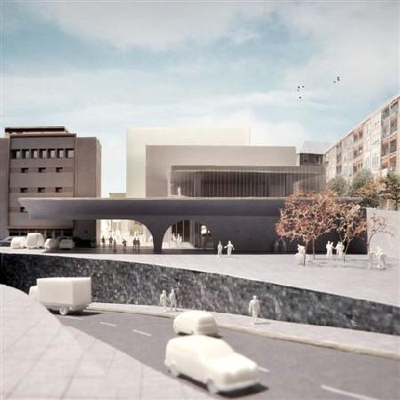 51N4E werkt nieuw concept voor stedelijk museum uit