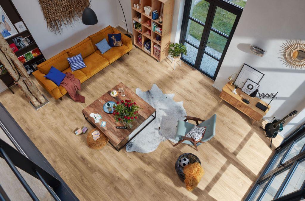 """Het nieuwe assortiment MeisterDesign. laminate omvat ook uitzonderlijke creaties zoals het decor """"Multiwood"""" dat is samengesteld uit imitaties van 10 verschillende houtsoorten terwijl het toch een harmonische uitstraling heeft."""