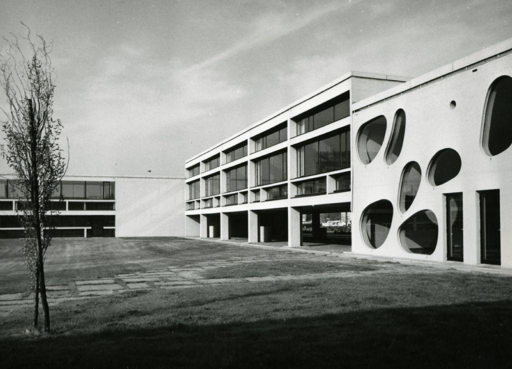 Koninklijk Vlaams Muziekconservatorium en deSingel, 1963-1988, Léon Stynen i.s.m. Paul De Meyer