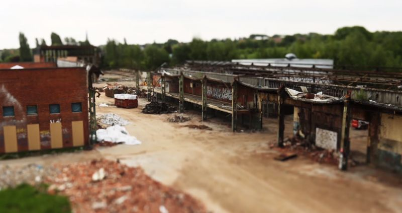 Stadskanker in Haren gesaneerd, 466880 kg sluikstort verwijderd