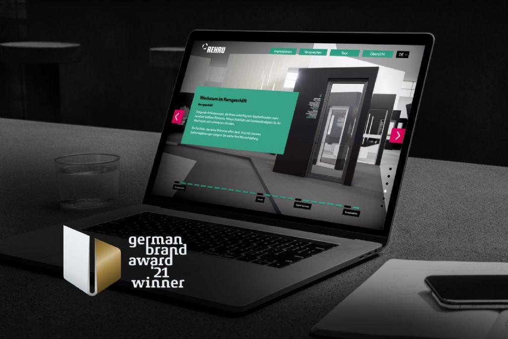 REHAU Window Solutions remporte un prix pour son 'Digital Highlight Tour'