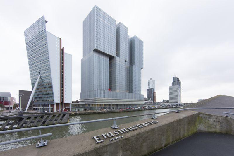 'De Rotterdam' is het grootste multifunctionele gebouw van Nederland