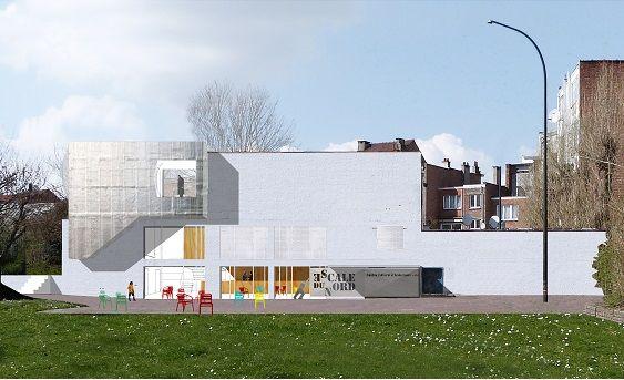 Raté de peu : Centre Culturel Scheut à Anderlecht (RESERVOIR A)