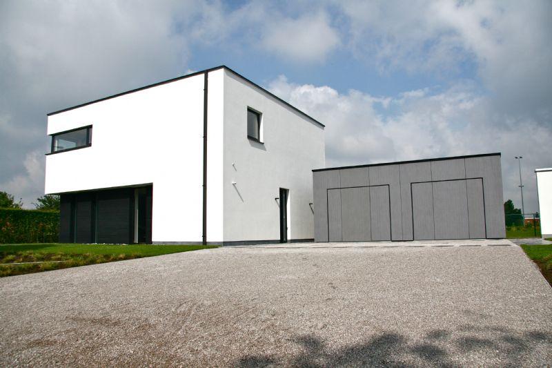 De BEN-woning werd ontworpen door Jan Delhuvenne.