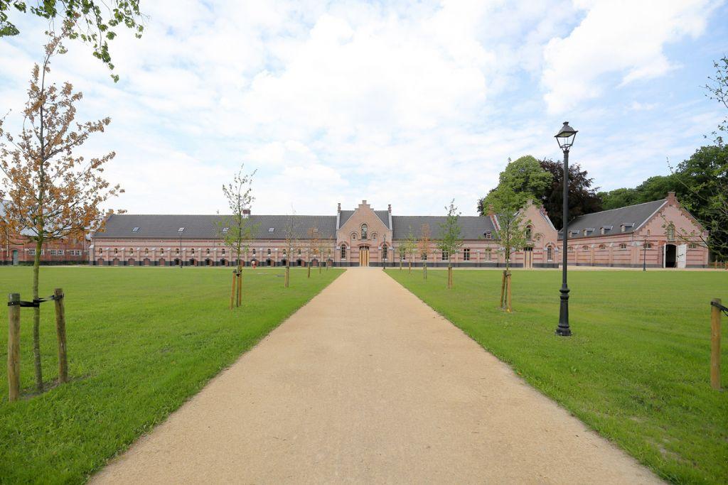 Merksplas Kolonie, de prachtige locatie waar het seminarie plaatsvond.