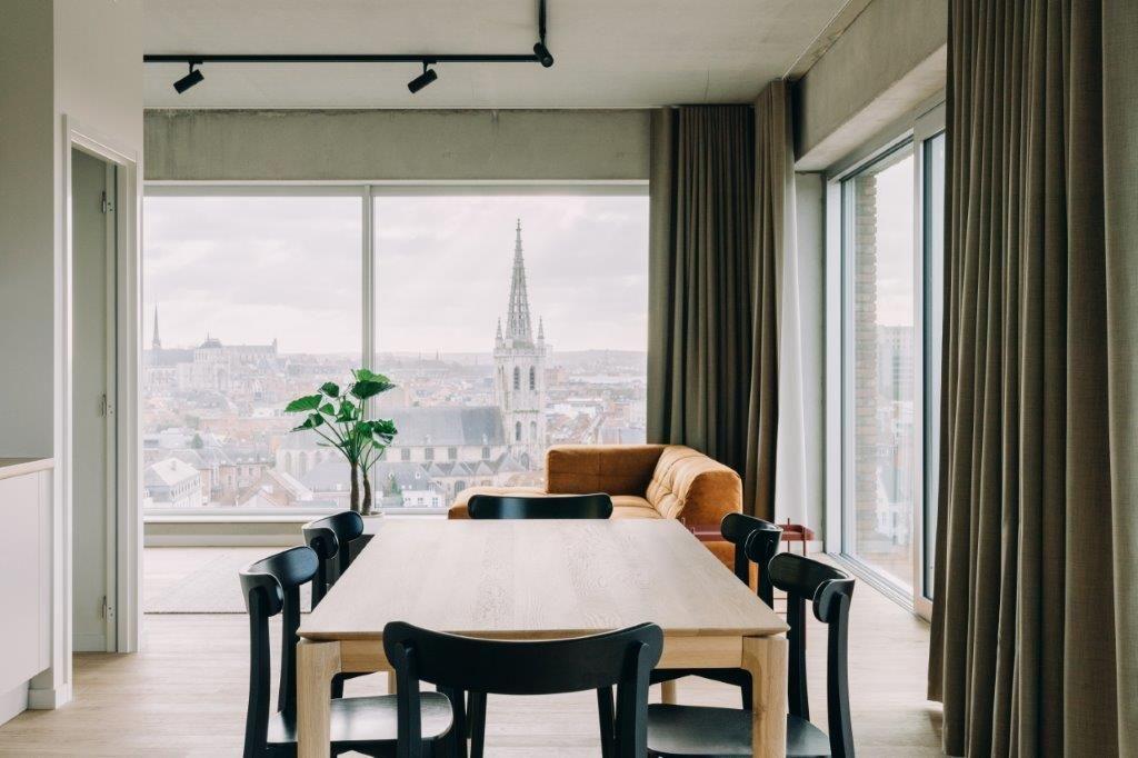 Het innovatieve woonconcept – 'De Hoorn Housing' – geeft het vooruitstrevende project een extra dimensie. (Foto: Hannelore Veelaert)