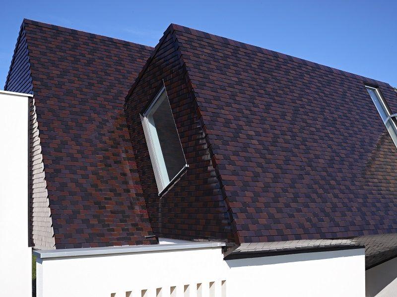 Matériau utilisé : Koramic Tuile plate 301 Mix.  Architecte : P2_Architecten, Gooik