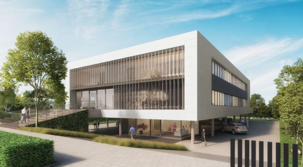Energiezuinige kantoren voor Melisana en Maria Galland (Schellen Architecten)