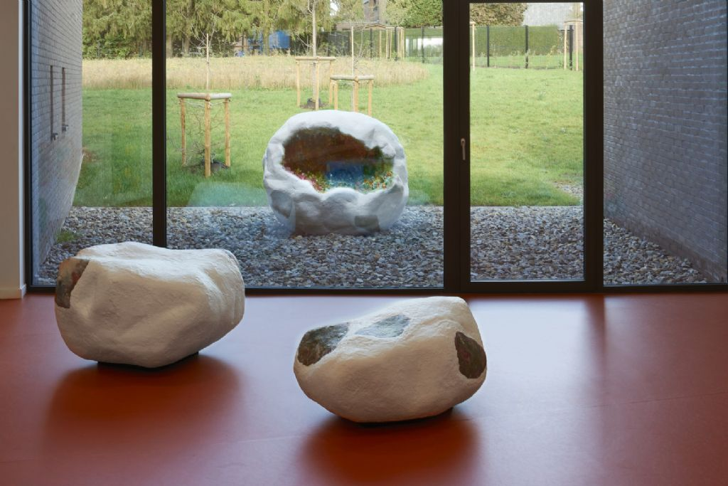 Le projet intègre également une oeuvre d'art, réalisée par la plasticienne Sophie Langohr.