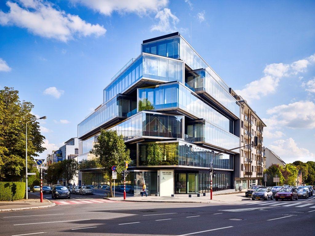 One on One : immeuble de bureaux hors du commun à Luxembourg-Ville