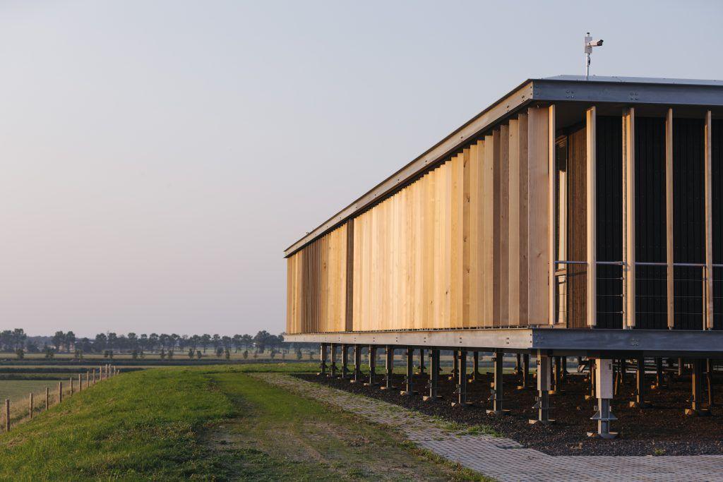 Circulair Paviljoen Energie Kenniscentrum, Leeuwarden
