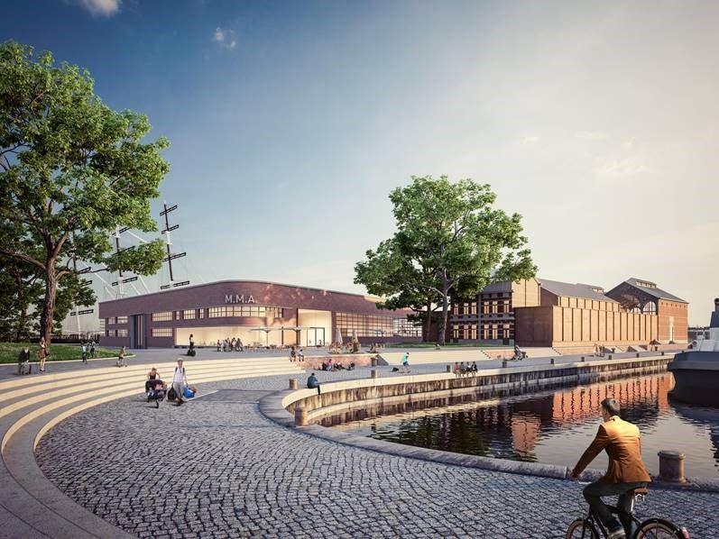 Atelier Kempe Thill wint ontwerpwedstrijd Maritiem Museum Antwerpen