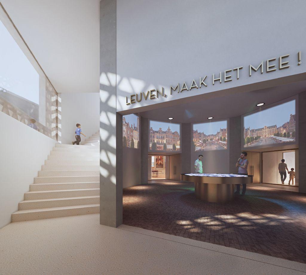 In het nieuwe volume zijn er tentoonstellingsruimtes waar bezoekers verleden, heden en toekomst van de stad kunnen ontdekken.