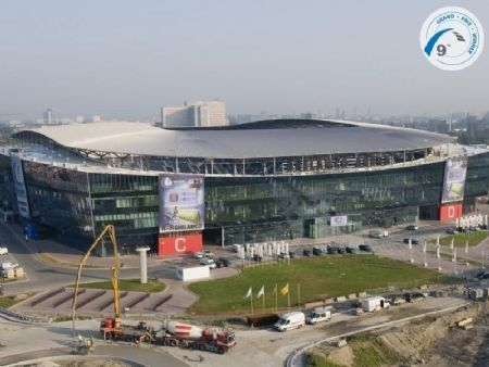 Gypsum International Trophy: Ghelamco Arena Gent