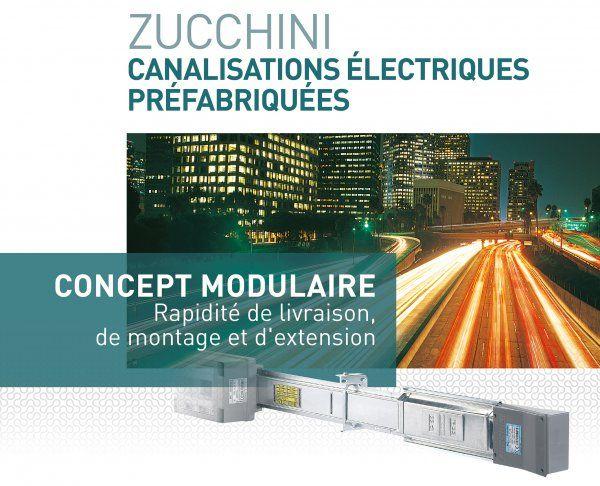 Legrand présente un système modulaire de canalisations électriques préfabriquées